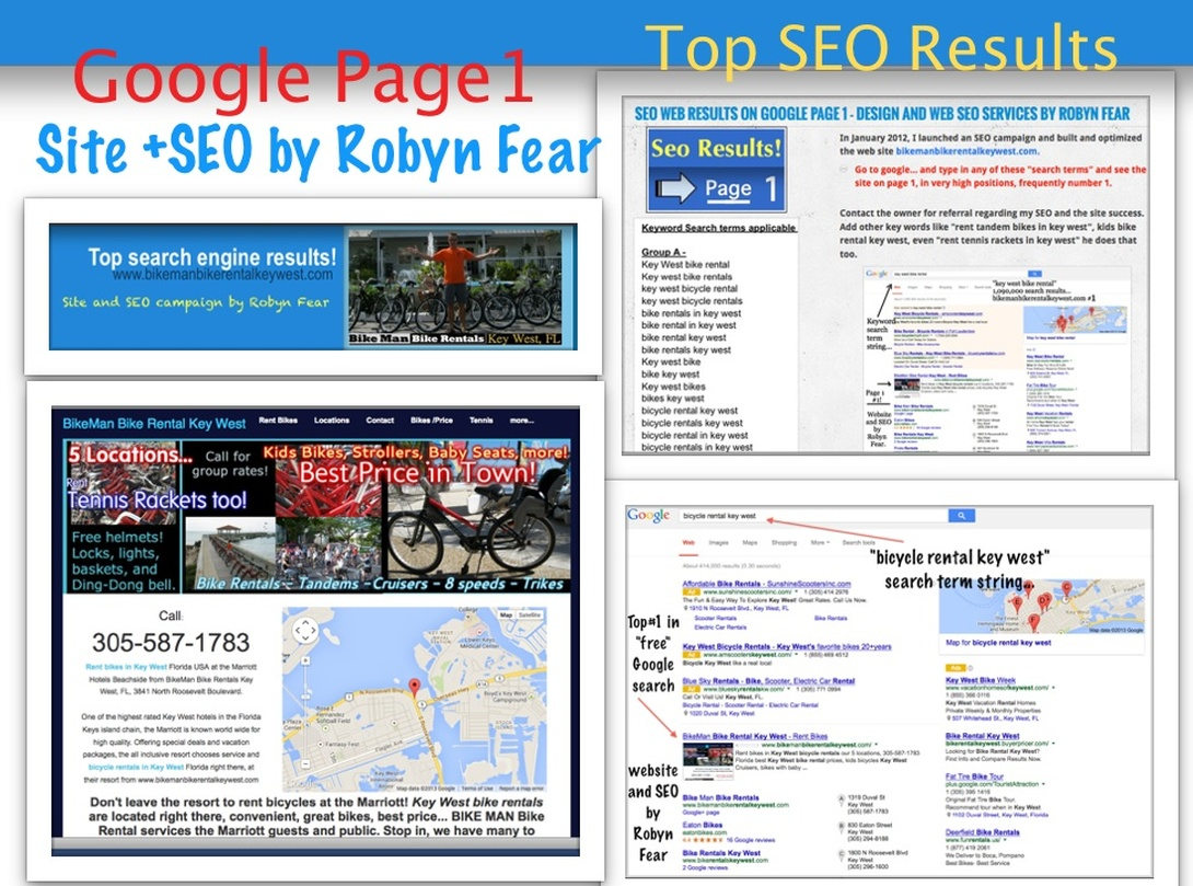 Page one seo on google